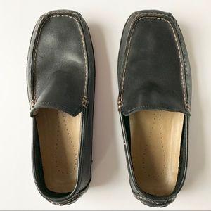 Banana Republic Men's Black Loafers Size 10